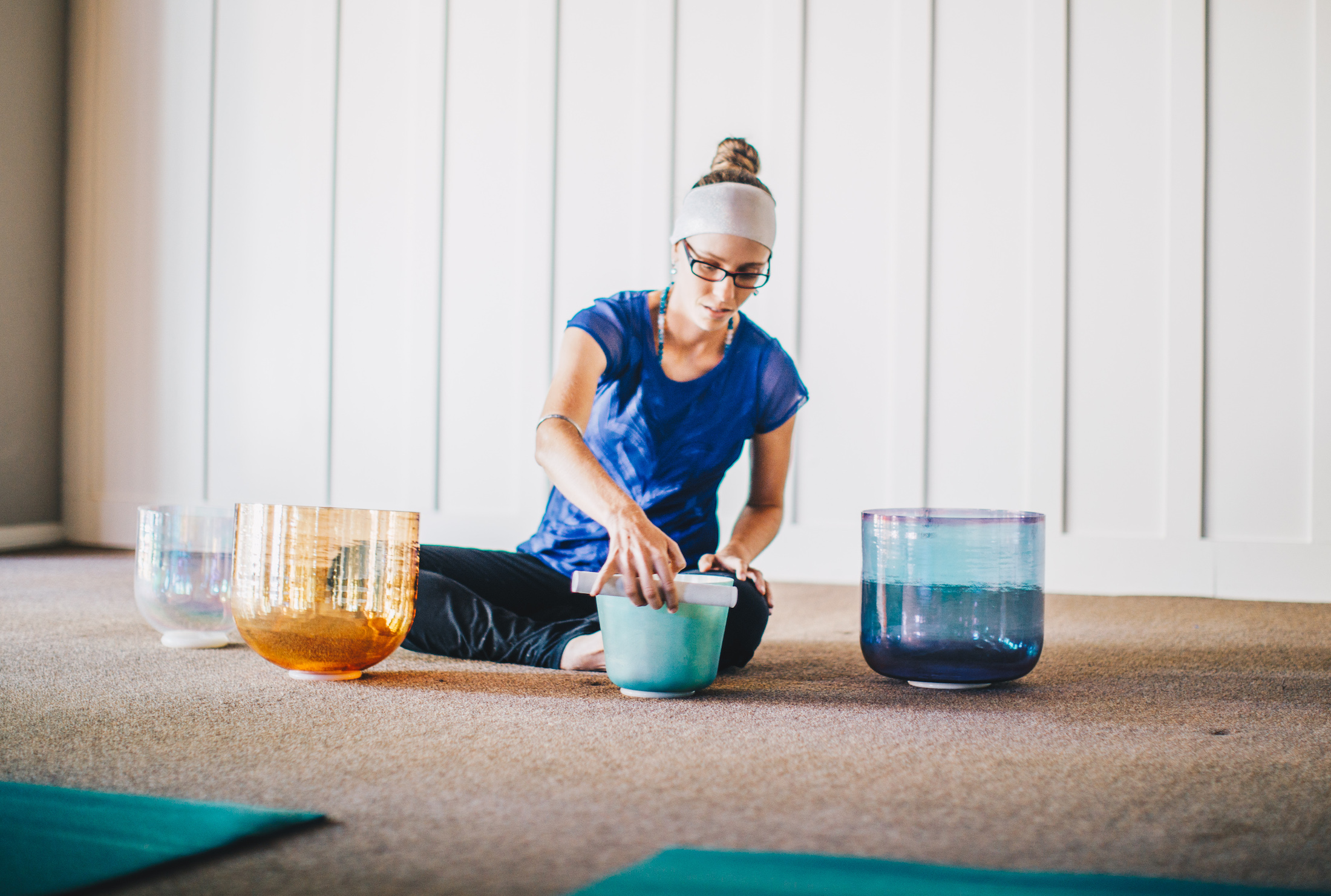 Sound Healing with Singing Bowls