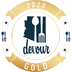 Devour Gold 2020 logo
