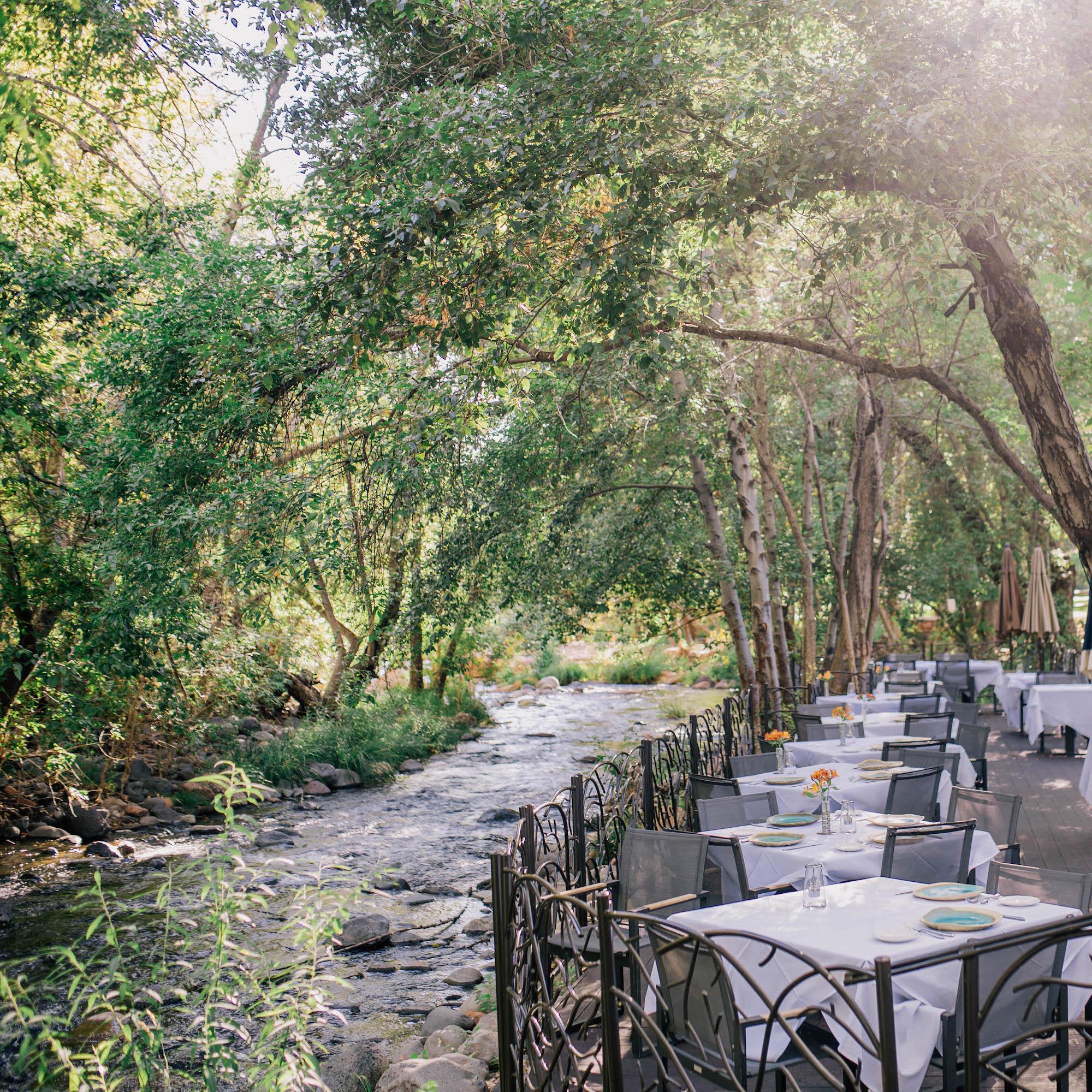 Cress on Oak Creek Creekside Dining