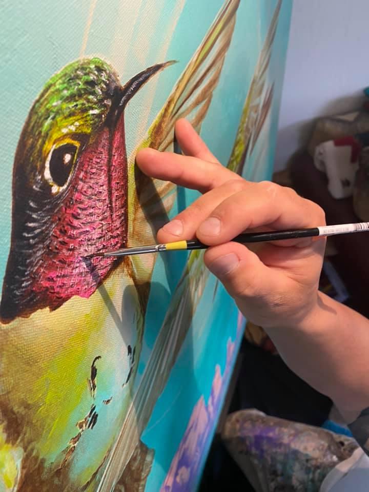 Artist in Residence - Charles Decker