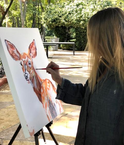 Artist in Residence - Patricia Griffin